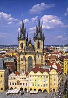 The Church of Mother of God before Týn often translated as Church of Our Lady before Týn, is a gothic church and a dominant feature of the Old Town of...