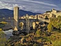 Besalú. Girona. Spain.