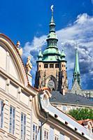 Prague Castle, Mala Strana, Prague, Czech Republic, Europe.