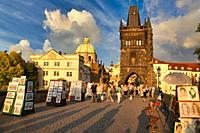 Charles Bridge, Prague, Czech Republic, Europe.