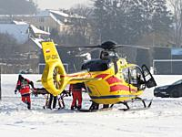 Poland. Air Ambulance Service in action.