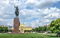 Kralj Tomislav Monument.