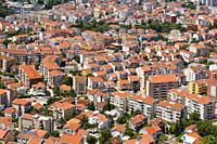 Budva, Montenegro. Rooftop view.