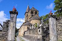 Church of Saint-Aventin-de-Larboust, Saint-Aventin, Haute-Garonne department, Occitanie, France.