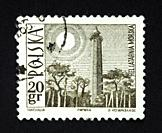 Polish postage stamp.