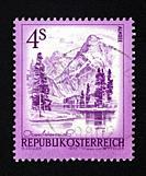Austrian postage stamp.