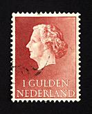 Dutch postage stamp.