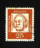 German postage stamp.