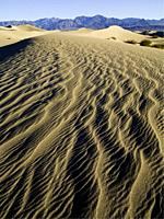 Stovepipe Wells Sand Dunes. . Death Valley National Park. . California. USA.
