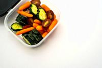 Vegetables in a bowl.