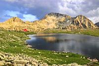 Mt Kamentsa and Tevno Lake, Pirin National Park, Bulgaria.