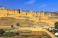 Amer Fort, Rajasthan, India.
