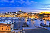 Marseille at Sunset, France.