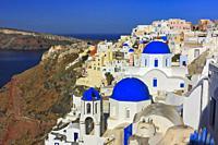 Oia, Santorini, Cyclades, Greece.