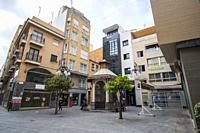 Elche Alicante Spain La Corredora shopping street in the center of the city of Elche