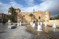 Elche Alicante Spain : The MAHE Museum of archaeology.