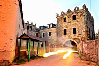 Castle of Arnado, Vilamartin de Valdeorras council, Orense, Spain.