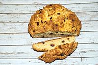 "Soda bread is a variety of quick bread traditionally made in a variety of cuisines in which sodium bicarbonate (otherwise known as """"baking soda"""", or..."