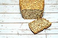 Making the bread for people who are gluten intolerant, make sure to use oats that are certified gluten-free. The psyllium seed husks provides a binder...