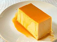 Cheese creme caramel.