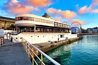 Nautical Club, La Concha Bay, Donostia, San Sebastian, Basque Country, Spain