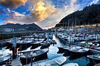 Port, Donostia, San Sebastian, Gipuzkoa, Basque Country, Spain,