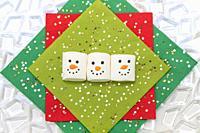 Joyful Christmas marshmallows.