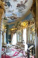 Cerralbo museum. It houses the art and historical object collections of Enrique de Aguilera y Gamboa, Marquis of Cerralbo, who died in 1922. Madrid. S...
