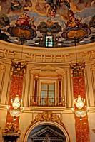interior of the Basilica of the Virgen de los Desamparados, Valencia, Spain