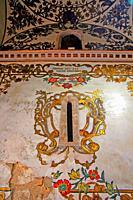 Baroque decorative paintings from the church of San Juan del Mercado or Real Parroquia de los Santos Juanes, Valencia, Spain
