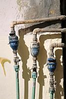 Water-meter in Oman.