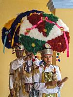 Holiday celebration at Santa Ana. Oaxaca. Mexico.