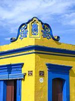 Corner House Decoration. Oaxaca. Mexico.