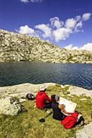 Lago de Millares, Camino de los Millares, Valle de Gistaín, Pirineo Aragones, Huesca, Spain.