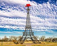 Paris Texas Eiffel Tower landmark, Paris, TX.