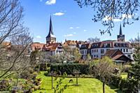 Stadtansicht Duderstadt, Niedersachsen, Deutschland   City view Duderstadt, Lower Saxony, Germany.