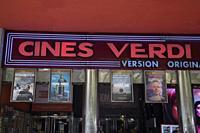 Verdi Cinema in Madrid; Spain.