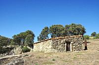 """Ethnographic Museum """""""" La Majada del Rostro """""""". Shepherd's sheepfold where a goat herder and his family lived between 1950 and 1953. Very close to the..."""
