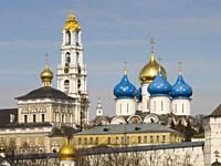 The Trinity Monsatery of St. Sergius. Lavra (Moscow) Russian Federation.