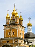 The Trinity Monastery of St. Sergius. . Lavra (Moscow) Russian Federation.
