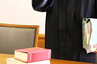 Symbol image of a court hearing in Germany.