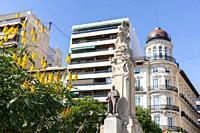 Paseo de La Explanada. Alicante.
