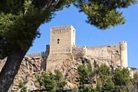 Castle of Almansa. Albacete
