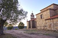 Hermitage of Our Lady of the Castle. Pereña de la Ribera. Arribes del Duero. Salamanca. Castile and Leon. Spain.