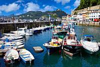Port, Donostia, San Sebastian, Gipuzkoa, Basque Country, Spain