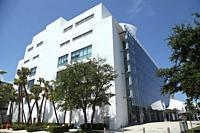 Mary and Howard Frank Plaza in Miami Beach, Florida, USA