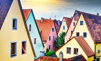Rothemburg ob der Tauber city.