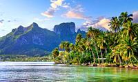 Tahiti, Morea Island.