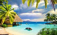 Tahiti Nui, Intercontinental resort.