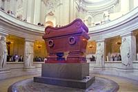France, Paris, Les Invalides, Emperor Napoleon Bonaparte Tomb.